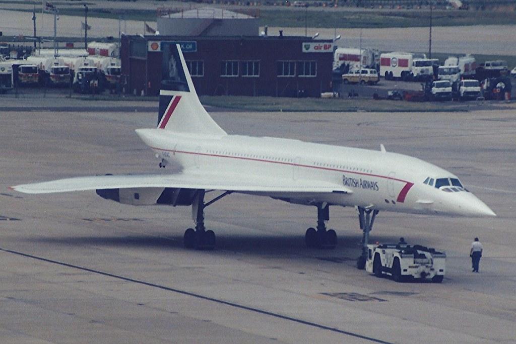 Gatwick August 1985 British Airways Concorde G Boac Flickr