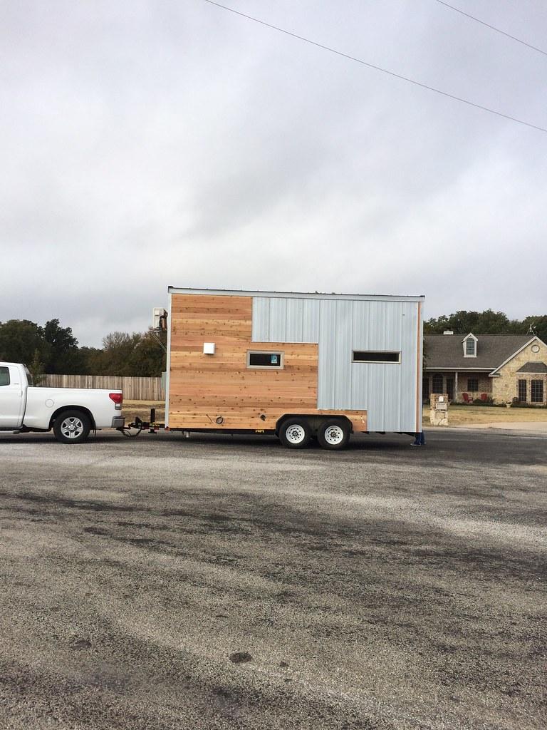 Modern exterior metal seamed panel and shiplap texas cedar… Flickr - ^