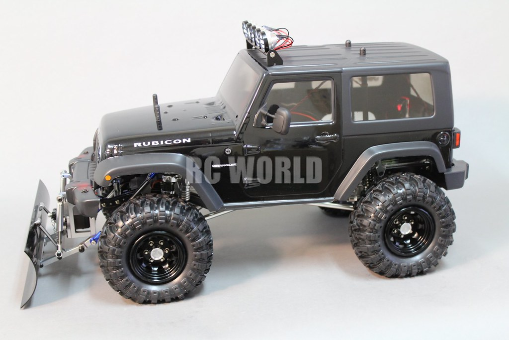 ... Rc Axial Jeep Wrangler Rubicon SNOW PLOW | By RC WORLD RADIO CONTROL  HOBBY