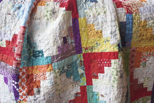 Sunshine and Showers Baby Quilt 2 | by CoraQuilts~Carla