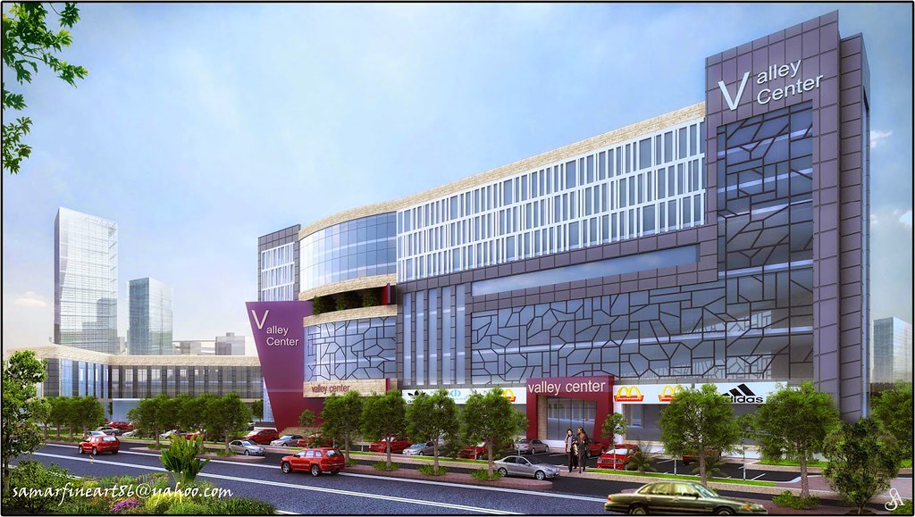 This is my latest work of a mall hotel design modern for Shopping mall exterior design