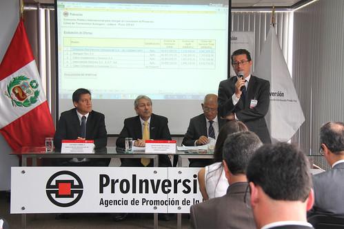 Sr. Luis Velasco, Representante del Consorcio ganador