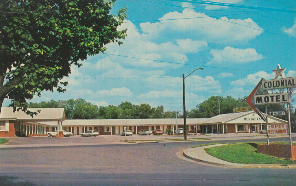 Colonial Motel Restaurant Amp Beauty Parlor Hopkinsville