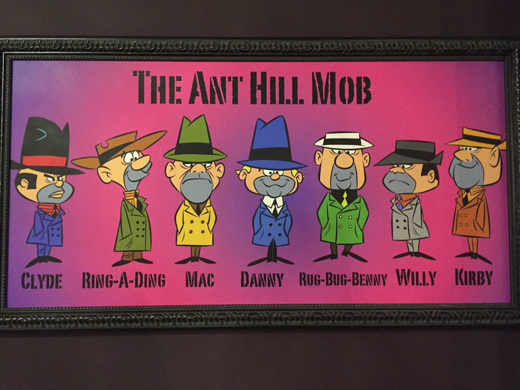 The Ant Hill Mob Clyde Ring A Ding Mac Danny Rug Bug