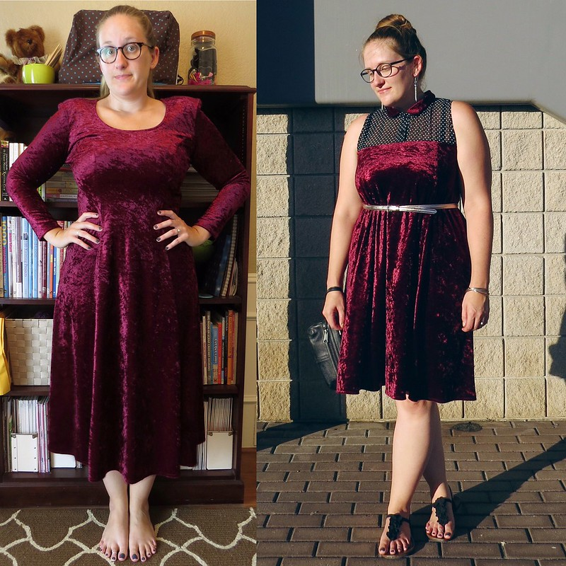 Refashion Runway: Velvet