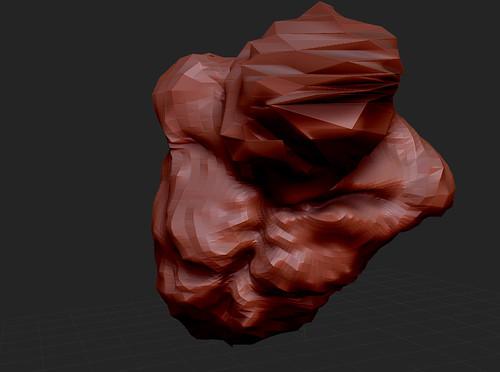 Zbrush - Figure 1 - Torso