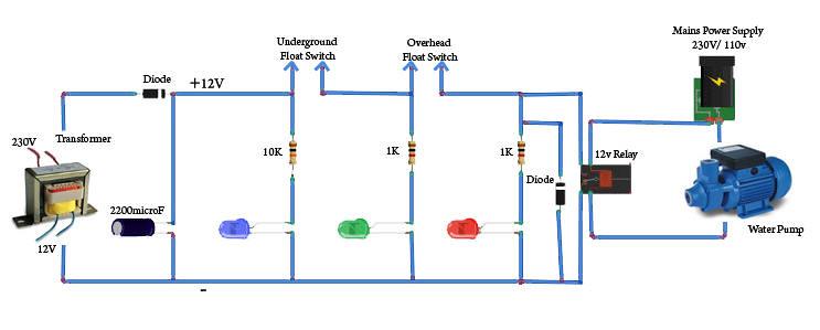 Water Controller Circuit Diagram Worksheet And Wiring Diagram
