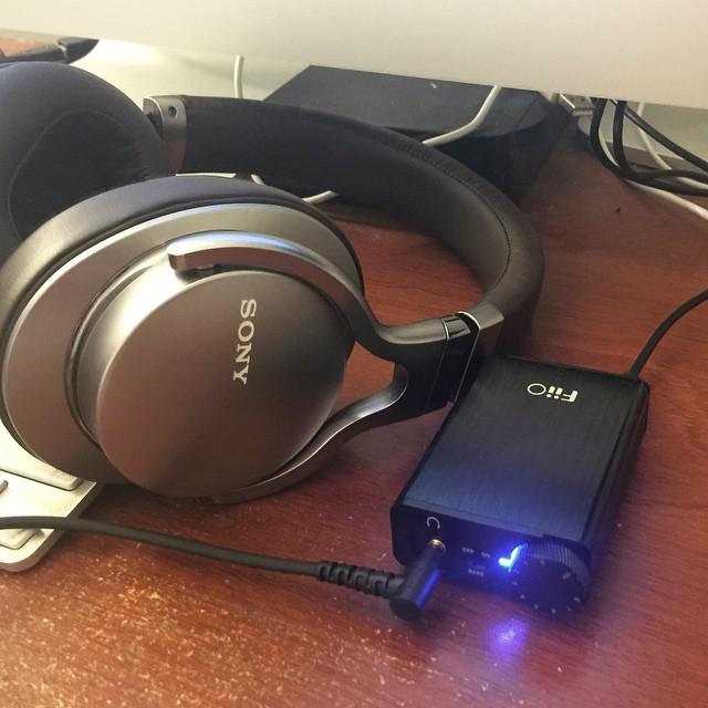 Headphone amp hook up