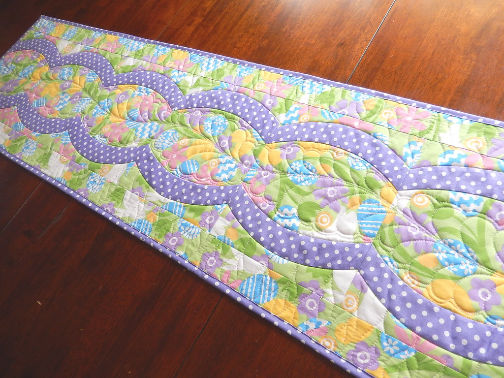 Easter Table Runner 14 5 X 50 5 Quot My First Run Using The