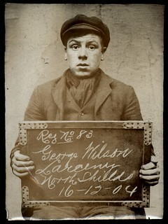 George Wilson, arrested for stealing from his father | by Tyne & Wear Archives & Museums