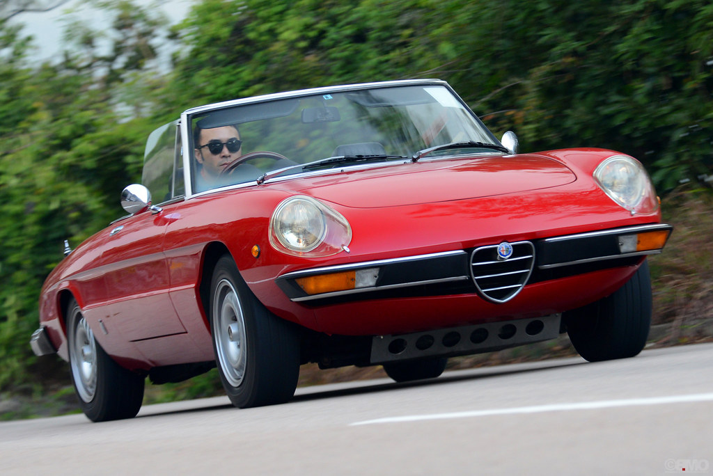 alfa romeo spider 105 115 series in hong kong classic. Black Bedroom Furniture Sets. Home Design Ideas