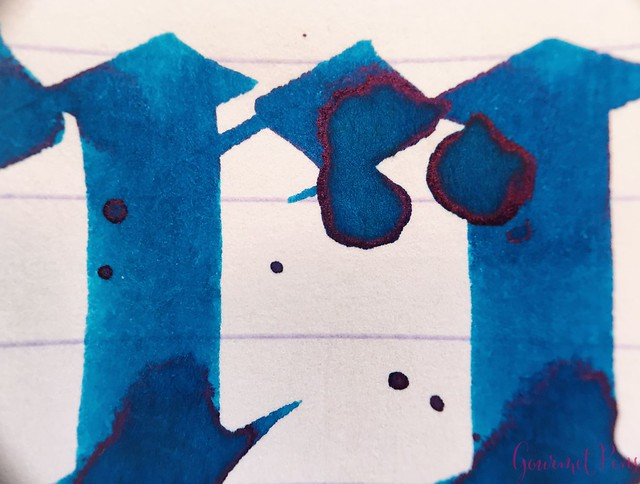 Ink Shot Review Blackstone Barrier Reef Blue @AndersonPens 7