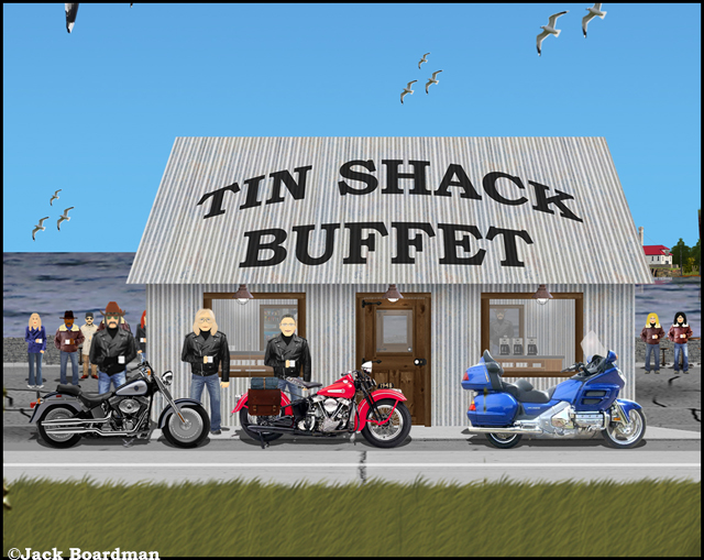 """I need to sell my bike"" ©Jack Boardman"