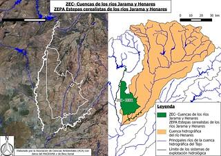 ZEC-ZEPA Cuencas de los ríos Jarama y Henares