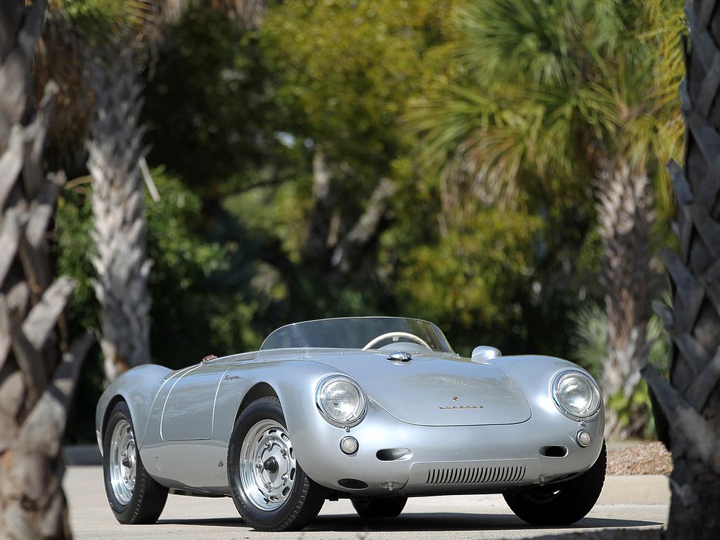 Porsche 550 Spyder. 1956 – 1958 годы