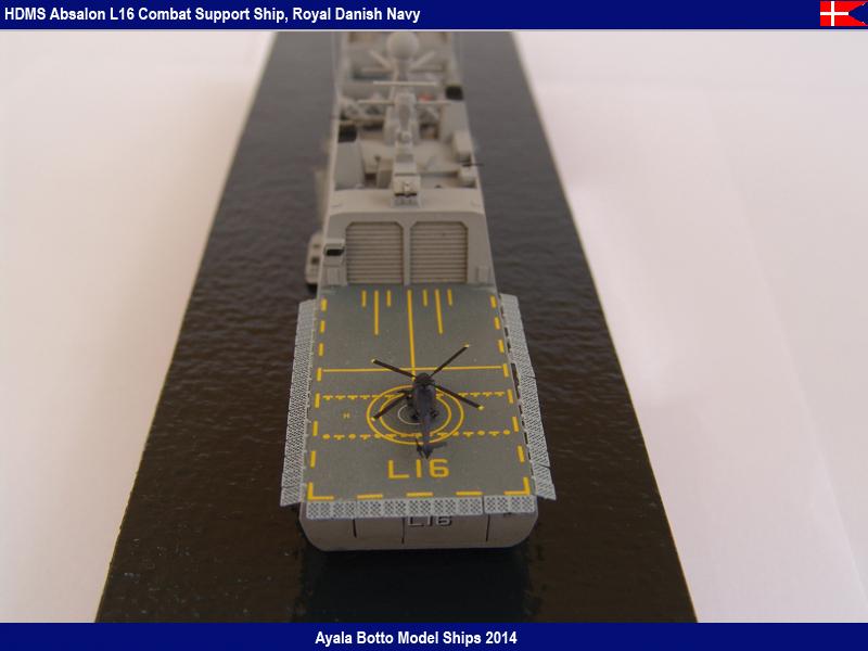 HDMS Absalon L16 Navire de Soutien Multifonctions NNT 1/700  16022120674_20b6acd8be_c