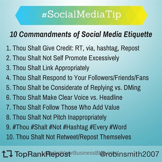 This Is Social Media Etiquette Gold! How Many Of Us Are Gu