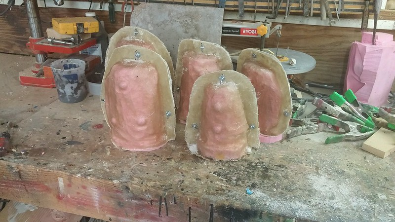 Completed Gauntlet Molds