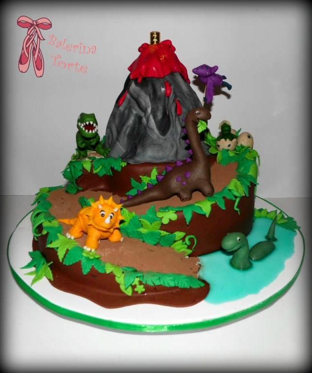 dinosaur cake dinosaursi torta by balerina torte jagodin flickr. Black Bedroom Furniture Sets. Home Design Ideas