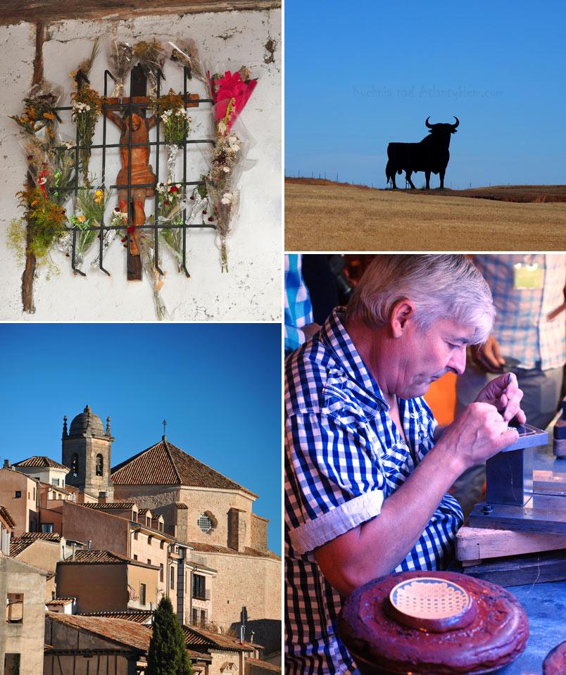 Scenes from La Mancha, Spain.