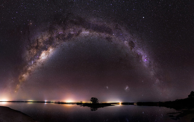 Milky Way over Island Point, Western Australia - 35mm Panorama