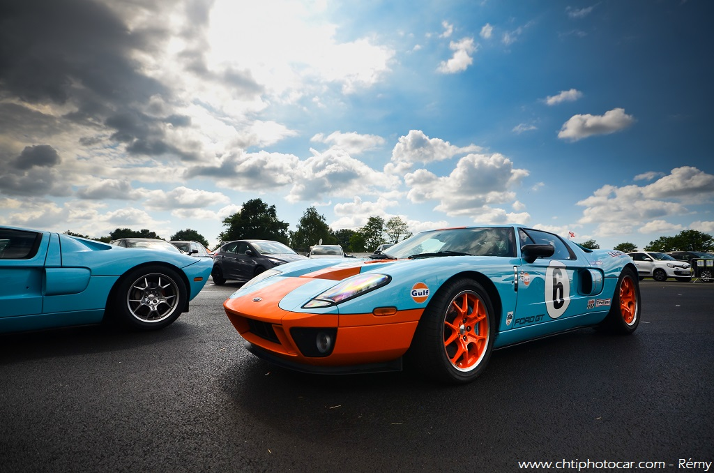 Ford Gt Heritage Gulf By Remy Www Chtiphotocar Com