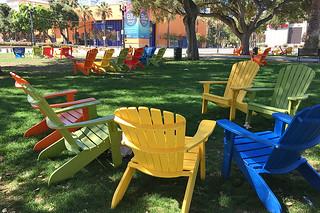 San Jose downtown - Cezar Chavez Park