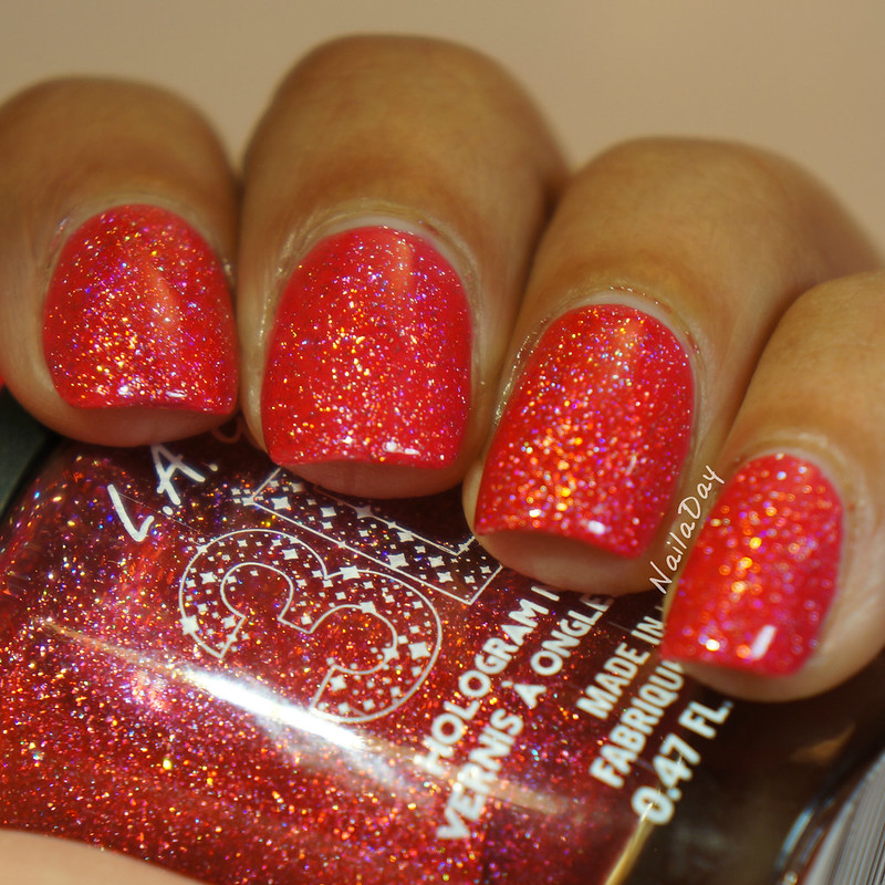 NailaDay: L.A. Girls Dazzling Pink over Barielle Ready to Party