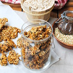 Homemade Rye and Buckwheat granola