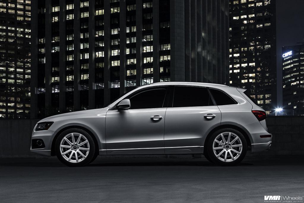Audi Q5 V702 Matte Hyper Silver 20 Quot Audi Q5 Ibis White