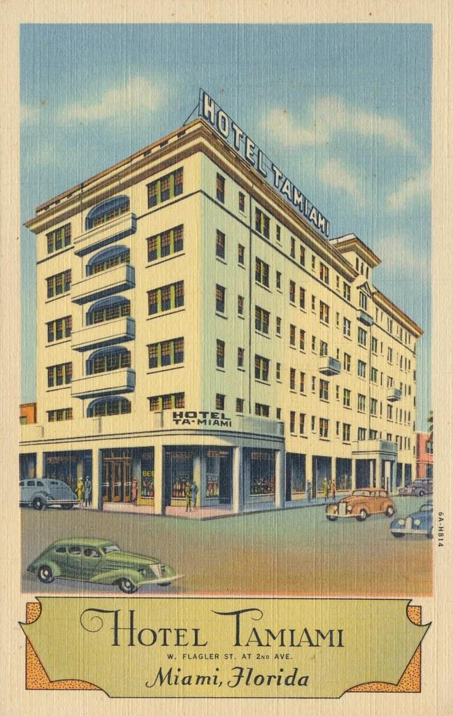 Hotel Tamiami - Miami, Florida