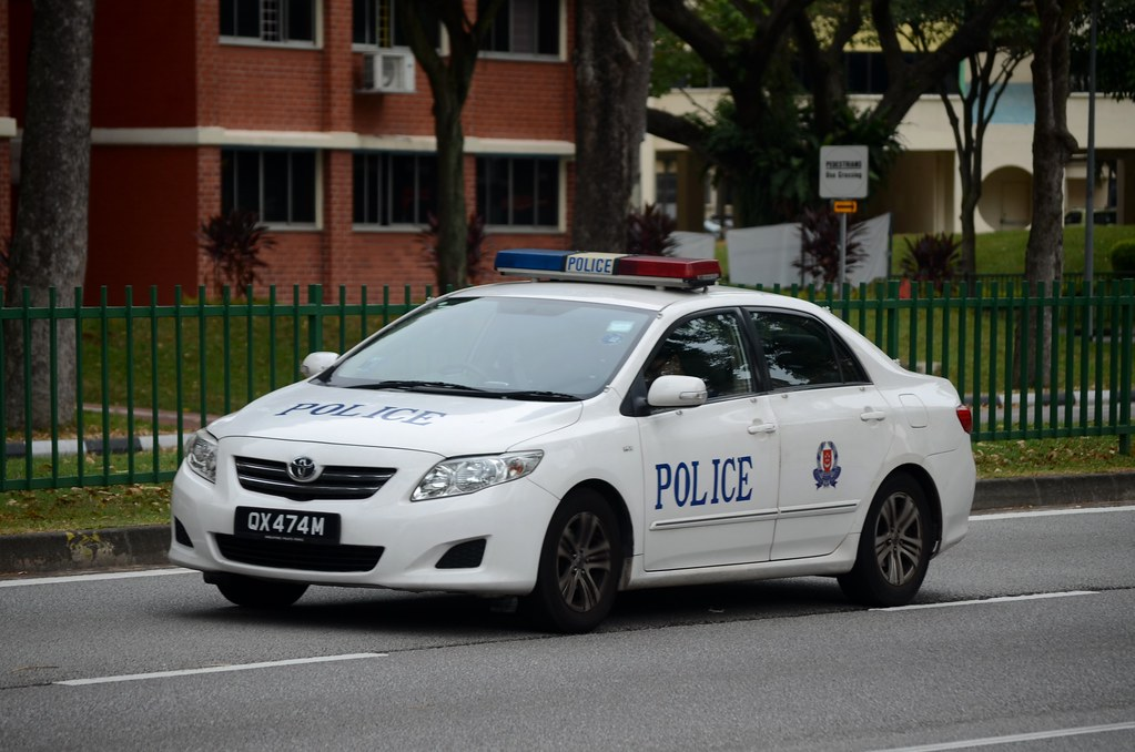singapore police force toyota corolla altis fast response