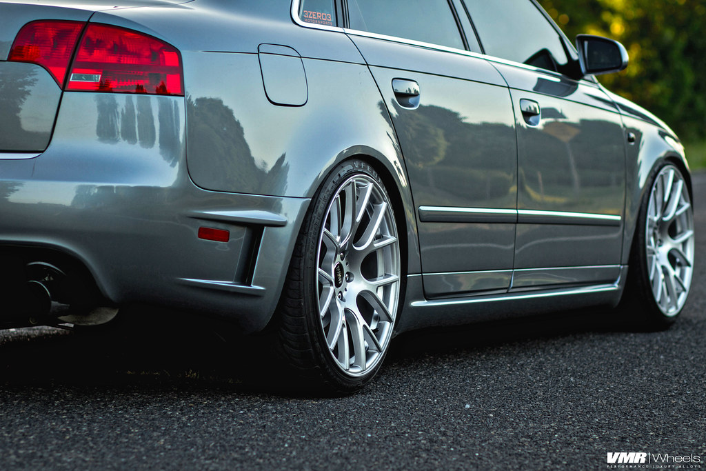 Vmr Wheels X Audi B7 V810 Flow Formed Concave Mesh