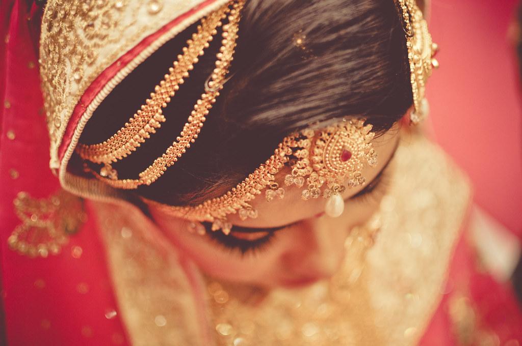 Tikli Tikli Is A Traditional Bengali Forehead Ornament