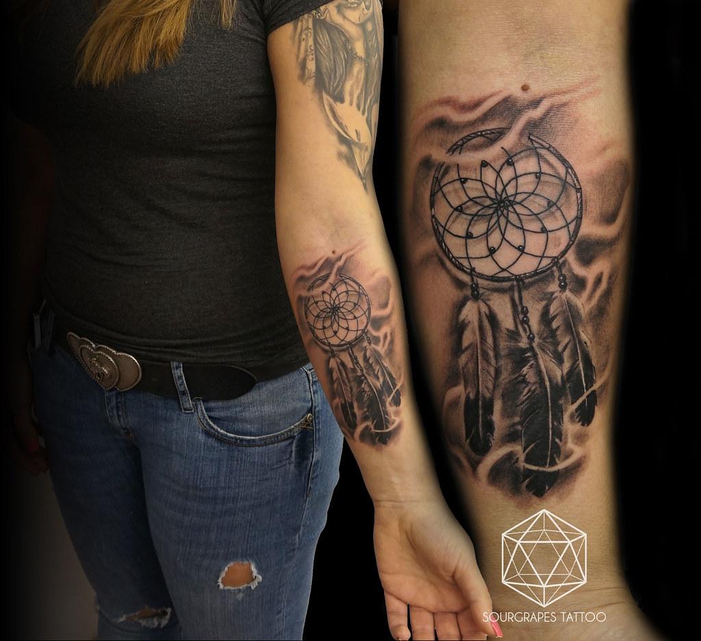 Realistic dreamcatcher tattoo 1322 tattoo studio queens p flickr realistic dreamcatcher tattoo by 1322 tattoo studio gumiabroncs Image collections
