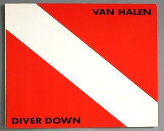 """VAN HALEN DIVER DOWN 12"""" LP VINYL"""