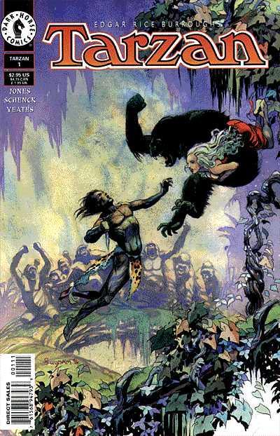 Tarzan - Dark Horse - Comic Cover