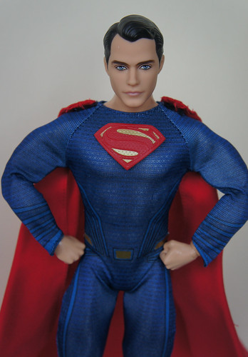 The Superman doll from the Batman v Superman | by GreenEyes87)