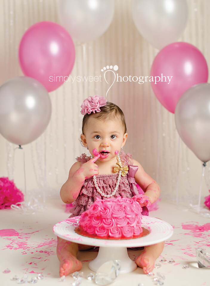 1st Birthday Cake Smash Kissimmee Fl Photographer Flickr