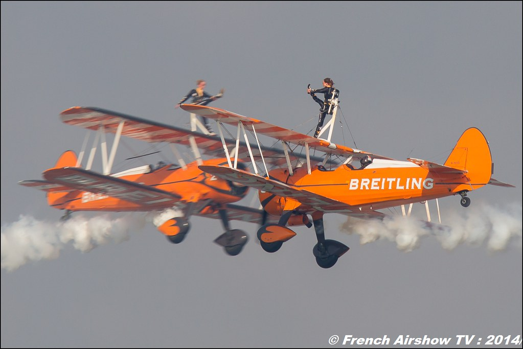 Breitling Wingwalkers , Air14 Payerne 2014 , Meeting Aerien 2014