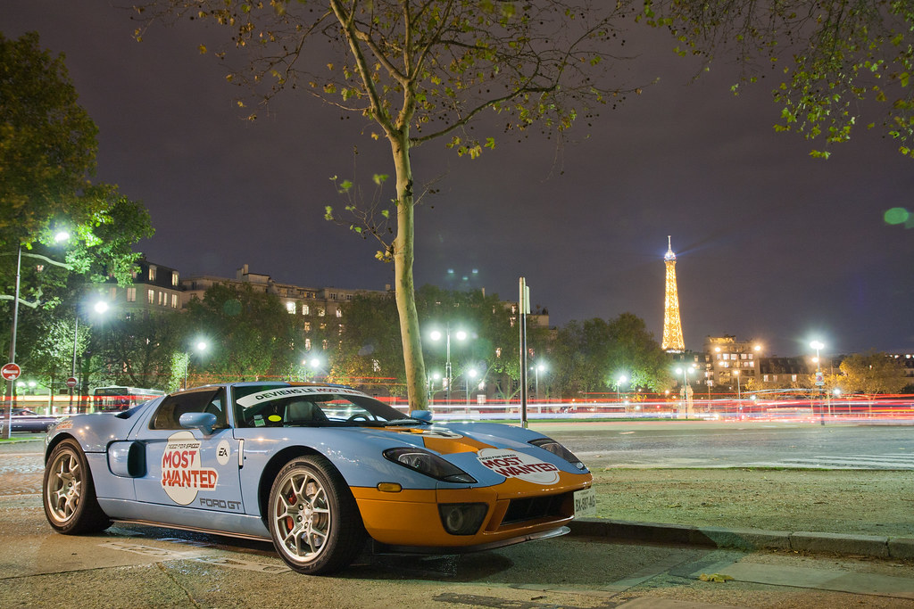 Ford Gt Heritage Edition Need For Speed Most Wanted Paris