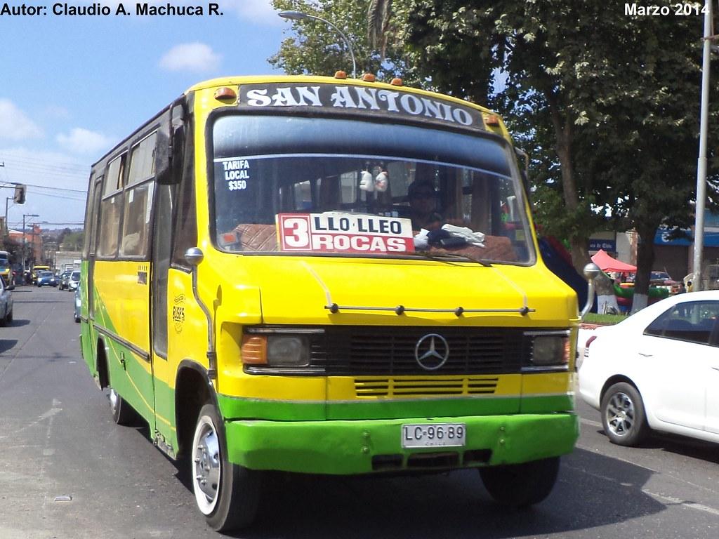 1994 inrecar mercedes benz lo 809 42 5 asociaci n buse for San antonio mercedes benz