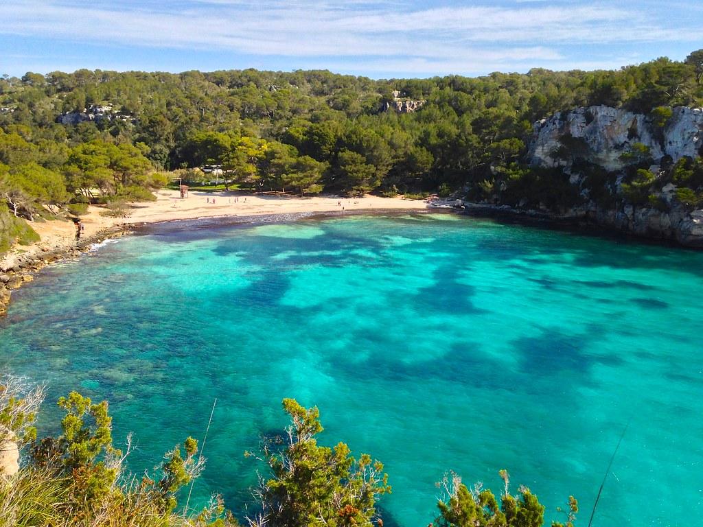 Playa paradisiaca en la costa de menorca inmobiliaria real estate bonnin - Bonnin sanso menorca ...