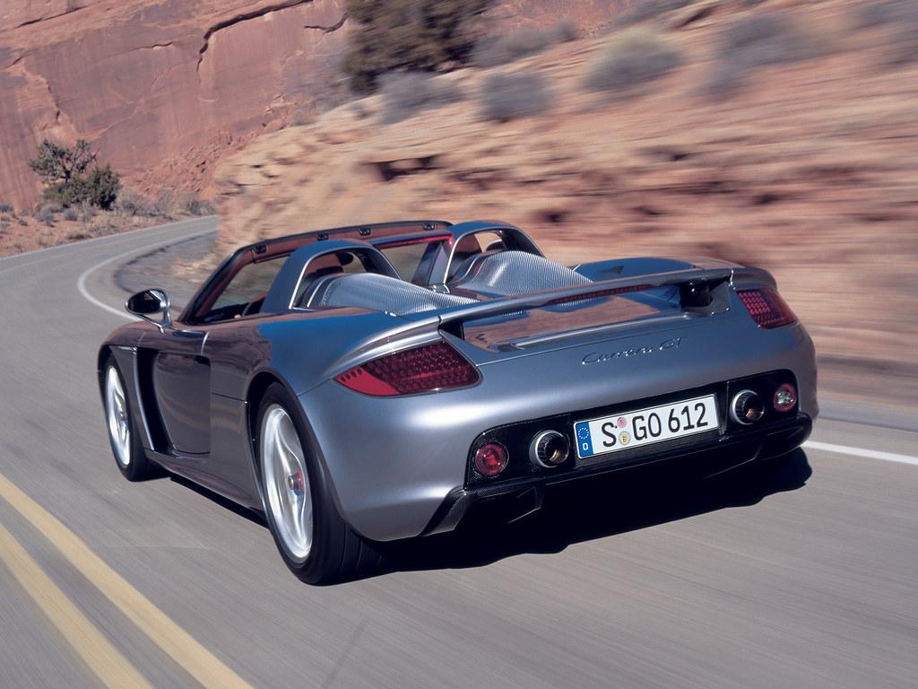 Суперкар Porsche Carrera GT (кузов 980). 2003 – 2006 годы