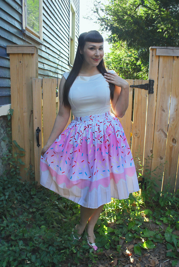 kawaii cupcake skirt