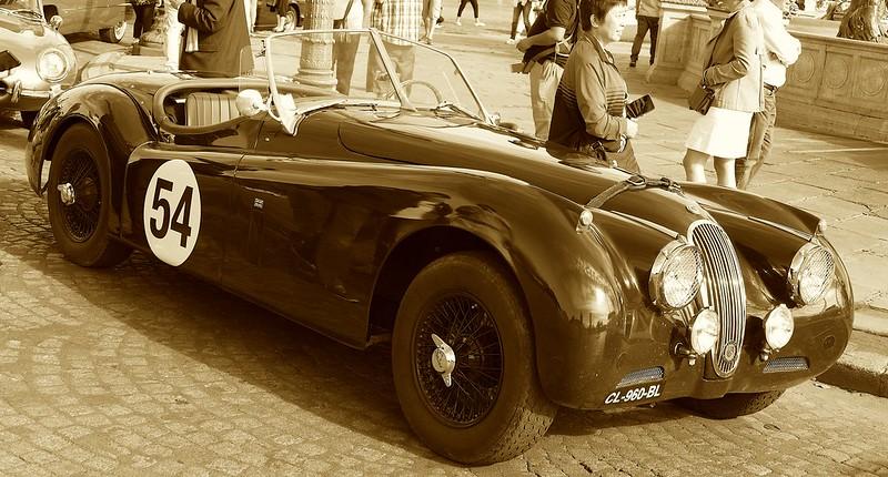 Jaguar Racer 1954 - Traversée de Paris 31 Juillet 2016 28690879535_d68ec342ed_c