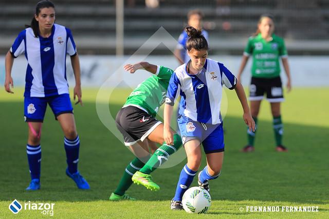 Fútbol Femenino 16/17. Dépor Femenino 0 - Oviedo Moderno 0