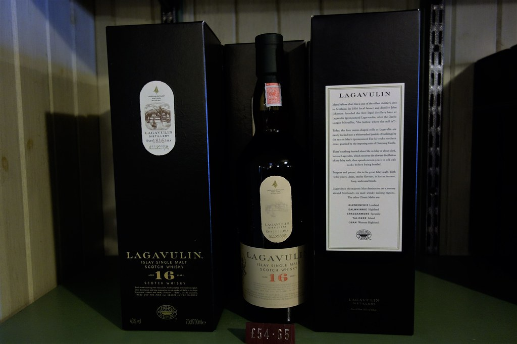 Lagavulin 16 year-old single malt