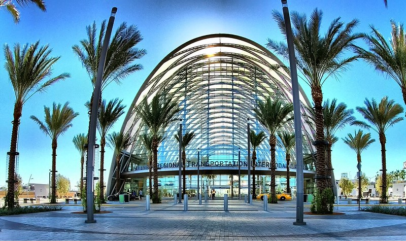 Anaheim, CA train station - ARTIC