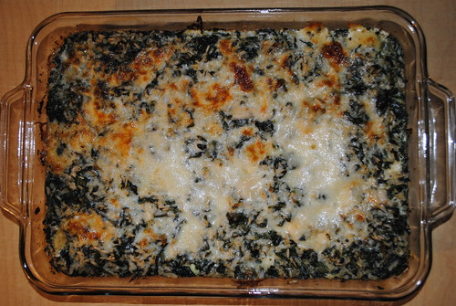 Cheesy Baked Spinach Rice (6)